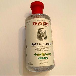 Thayers Facial Toner Original Witch Hazel New